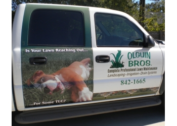 Beaumont landscaping company Olguin Bros. Landscaping