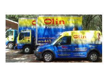 Tampa plumber Olin Plumbing, Inc.