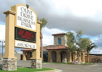 Bakersfield storage unit Olive Drive Self Storage