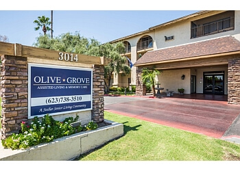 Phoenix assisted living facility Olive Grove Retirement Community