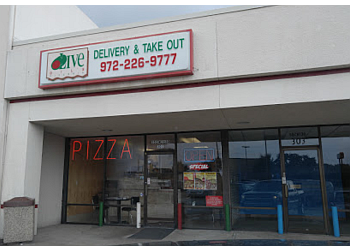 Garland pizza place Olive Oil's Pizzeria