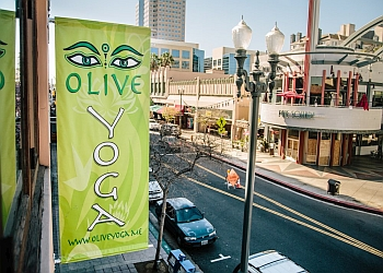 Long Beach yoga studio Olive Yoga