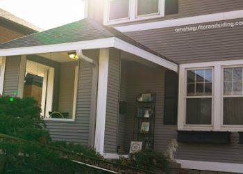 Omaha gutter cleaner Omaha Gutter and Siding Company