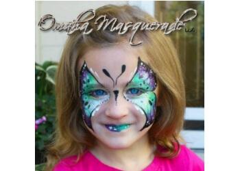 Omaha face painting Omaha Masquerade