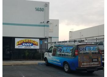 San Bernardino garage door repair On Trac Garage Door Company