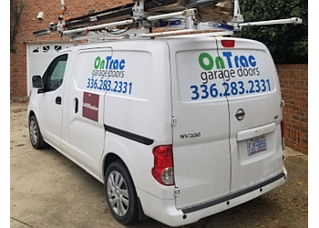 Winston Salem garage door repair OnTrac Garage Doors
