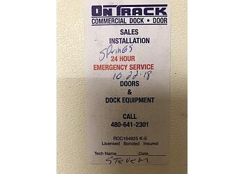 Mesa garage door repair On-Track Garage Door Service, Inc.