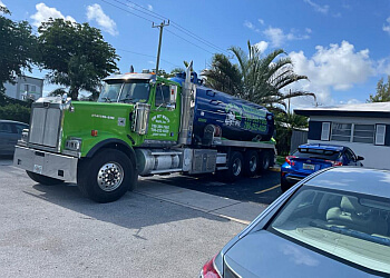 Miami septic tank service On Your Way Septic, Inc