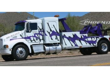 Gilbert towing company Onager Towing LLC