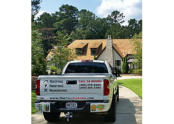 Birmingham roofing contractor One Call Roofing, LLC.