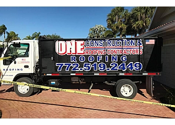 Port St Lucie roofing contractor One Construction & Roofing Contractors