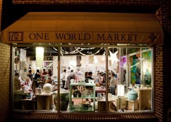 Durham gift shop One World Market