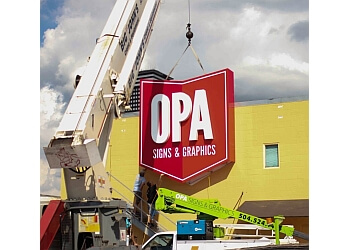 New Orleans sign company Opa Signs & Graphics