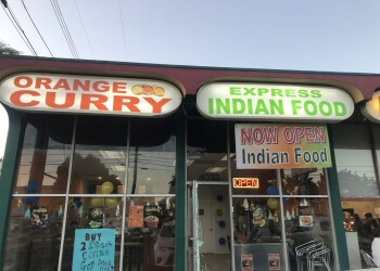 Orange indian restaurant Orange Curry