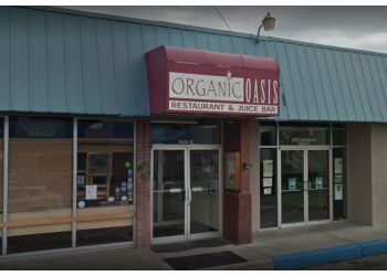 Anchorage vegetarian restaurant Organic Oasis
