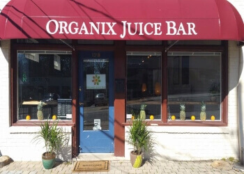 Winston Salem juice bar Organix Juice Bar