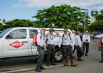 Honolulu pest control company Orkin