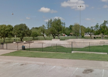 Abilene public park Oscar Rose Park