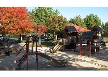 Fresno public park Oso De Oro Lake Park