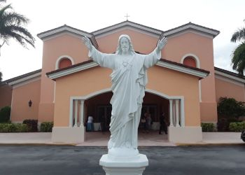 Miami church Our Lady of Lourdes Catholic Church