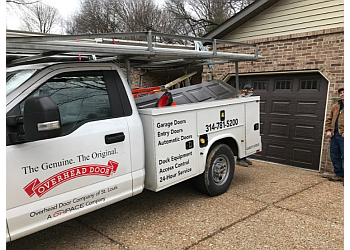 St Louis garage door repair Overhead Door Company of St. Louis