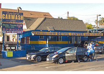 Los Angeles auto detailing service Overland Car Wash and Detail center