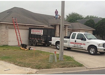 Brownsville roofing contractor Owen Roofing, Co. LLC