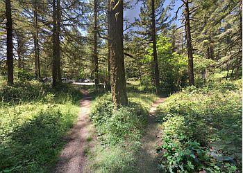Gresham hiking trail Oxbow Regional Park Trail