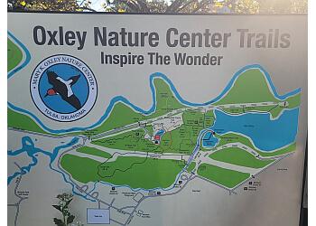 Tulsa hiking trail Oxley Nature Center