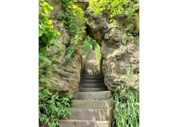 Cedar Rapids hiking trail PALISADES-KEPLER STATE PARK