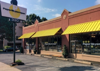 Charlotte gift shop PAPER SKYSCRAPER
