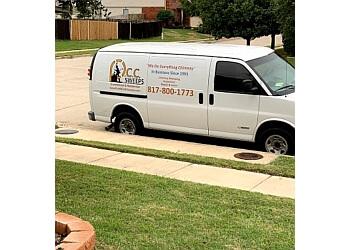 Fort Worth chimney sweep P.C.C. Sweeps