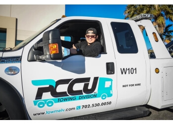 North Las Vegas towing company PCCU Towing