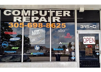 Hialeah computer repair P.C. MALL CORP
