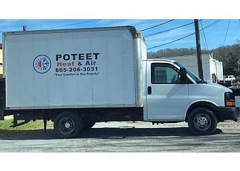 Knoxville hvac service POTEET HEAT & AIR