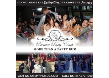 Springfield limo service PREMIER PARTY COACH