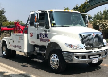 Salinas towing company P & R Towing
