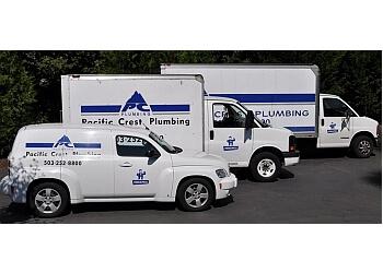 Portland plumber Pacific Crest Plumbing