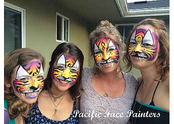 San Francisco face painting Pacific Face Painting