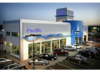 San Diego car dealership Pacific Honda