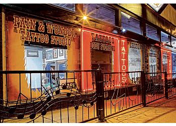 Athens tattoo shop Pain & Wonder Tattoo Studio