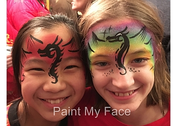 Madison face painting Paint My Face
