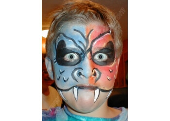 Birmingham face painting Painted Personalities
