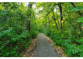 Detroit hiking trail Palmer Park