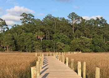 North Charleston hiking trail Palmetto Islands County Park Trail