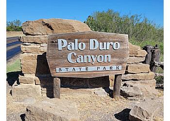 Amarillo hiking trail Palo Duro Canyon State Park