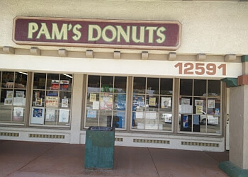 Moreno Valley donut shop Pam's Donuts