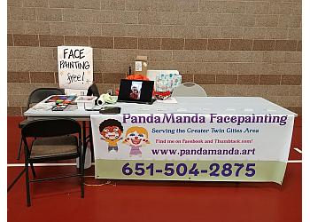 St Paul face painting PandaManda Facepainting