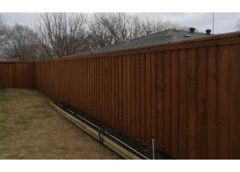 Amarillo fencing contractor Panhandle Fence Staining