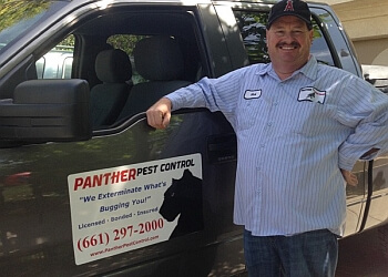 Santa Clarita pest control company Panther Pest Control